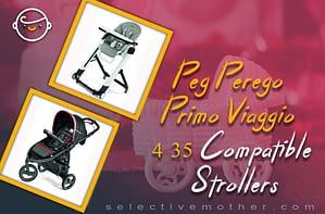 Peg Perego Primo Viaggio 4 35 Compatible Strollers