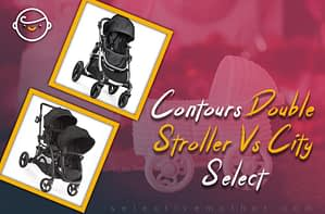 Contours Double Stroller Vs City Select