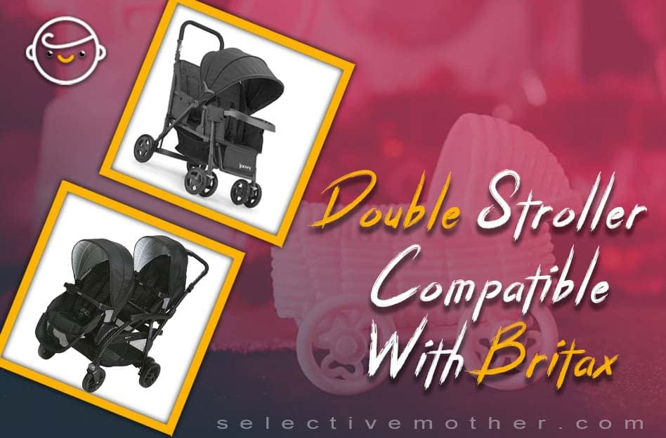 Double Stroller Compatible With Britax